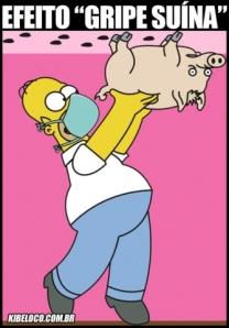 homer-simpson-porco-gripe-suina4